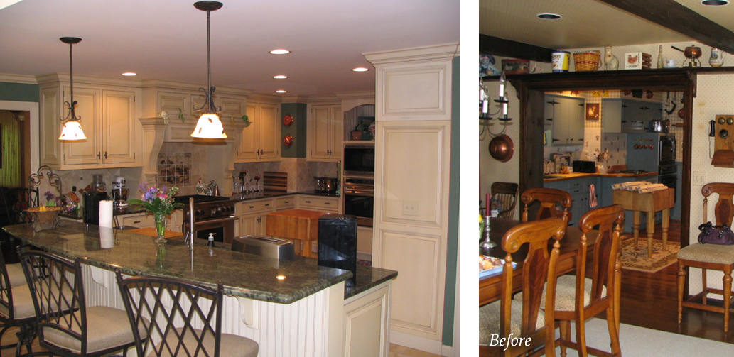 Multiple additions and remodeling in Indian Hill, Ohio.